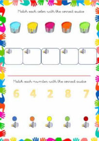 Match the colors and numbers