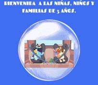 BIENVENIDA AL ALUMNADO Y FAMILIAS DE 3 AÑOS