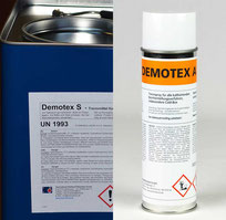 Release agents Demotex S fluid and Demotex A spray