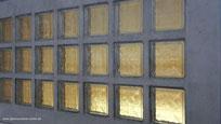 Beton Fertigteile Stahlglasbeton Decke Element Lichtschachtabdeckung Beton Læser Konkrete Briller Concrete Glass Bril Betong Betoni Lasit Glas Glass Bricks Pavers Fertigelement Betongläser Glassteindecke Kellerschacht-Abdeckung Licht Decke
