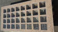 Bild: Beton Fertigteile Stahlglasbeton Decke Element Lichtschachtabdeckung Beton Læser Konkrete Briller Concrete Glass Bril Betong Betoni Lasit Glas Glass Bricks Pavers Fertigelement Betongläser Glassteindecke glasbausteine-center glasbausteine-center.de