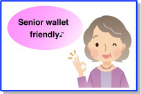 Senior welcome Special discount♪
