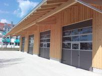 Vereinshalle Oberhaching - Schlüsselfertig, vom Eingabeplan bis zu den Außenanlagen