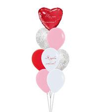 шары на день влюбленных