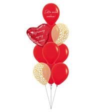 шары к 14 февраля