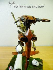 1/6 Diorama Clone Wars - Ratatarse Factory