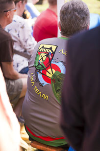 Liga-Trikot der Esslinger Bogenschützen