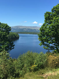 Loch Lomond, an der Grenze zu den Highlands