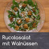 Rucolasalat mit Walnüssen Rezept