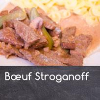 Boeuf Stroganoff Rezept Boeuf Stroganoff selber mache Stroganov