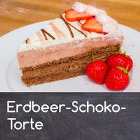 Erdbeer Schokolade Torte
