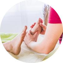 Fussreflexzonentherapie, Praxis für Naturheilkunde Moni Näf in Muri, Freiamt