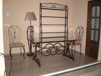 Mobiliario en forja tradicional y de diseño