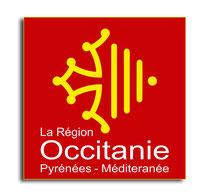STICKER PLAQUES IMMATRICULATION région Occitanie Pyrénées Méditeranée