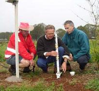 Vérifier la salinité du sol avec un capteur Agralis