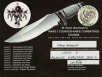 Fortgeschrittener Messer-Instruktor
