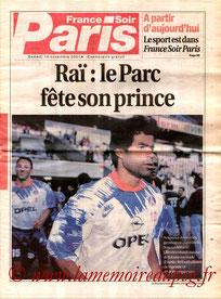 Supplément France Soir  Jubilé Rai  2001-02