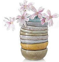 Wohnberatung, Einrichtungsberatung, schöner Wohnen, Inneneinrichtung, Vase mit Blumen,