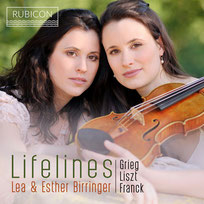 Lifelines Album with German violinist Lea Birringer and pianist Esther Birirnger