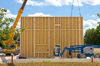 Serieller Bauen im Wohnungsbau mit Vorfertigung
