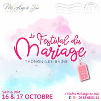Festival du Mariage  à Thonon-les-Bains - 16 et 17 Octobre 2021