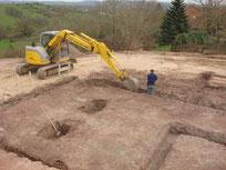 terrassement fouilles