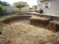 terrassement piscine chez particulier