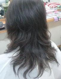 髪痩せしないパーマ 傷まないパーマ 艶パーマ ゆるいウェーブ