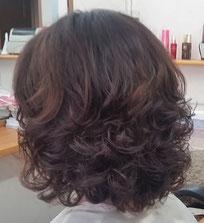 髪痩せしないパーマ 明るい髪色でもかかるパーマ しっかりウェーブ しっかりカール 傷まないパーマ