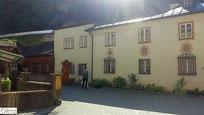 Salzburg Stift St. Peter mit alter Mühle
