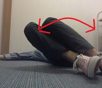 寝すぎた腰痛のストレッチ