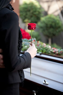 Trauerfeier / Begräbnis