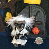 Halloween Teddy Kostüm Nähanleitung Spielbuch