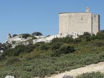 Chapelle Saint Michel et ruines du château