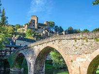 Pont et château de Belcastel