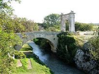 Pont Flavien, la Touloubre