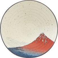 富嶽三十六景9.0高台反鉢 上面図