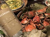 上海蟹とマセラード