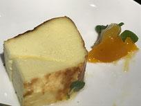 バスクチーズケーキとキンカンとマセラード