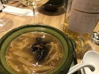 中華スープとリオハ白CVC