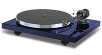 Pro-Ject Plattenspieler Xpression Carbon Classic nachtblau mit MM-Tonabnehmer Ortofon 2M Silver UVP 840,- €