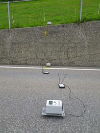 Analisi dei muri di calcestruzzo utilizzando metodi non distruttivi
