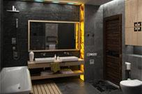 Edle Steinverarbeitung in Ihrem Badezimmer