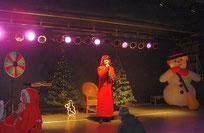 Showtruck-Bühne Weihnachten