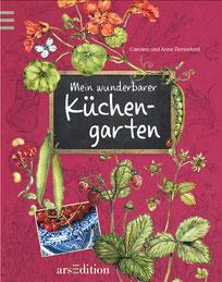 """Bild: Buchcover """"Mein wunderbarer Küchengarten"""" ars Edition"""