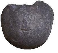 Homo habilis: galet aménagé (chopper)