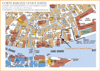 Map to reach Corte Barozzi