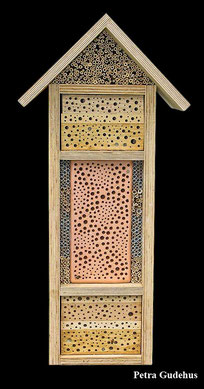 Insektennisthilfe Insektenhotel Nisthilfe insect nesting aid insect hotel mason bee terra cotta