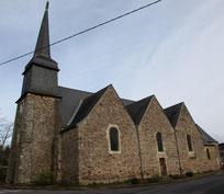 Vue sud de l'église Saint-Pierre