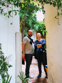 Patio caché de Séville, visite guidée hors des sentiers battus